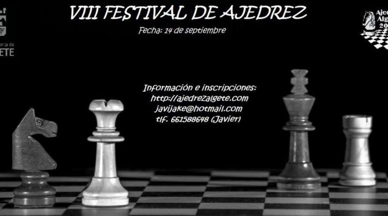 VIII FESTIVAL DE AJEDREZ
