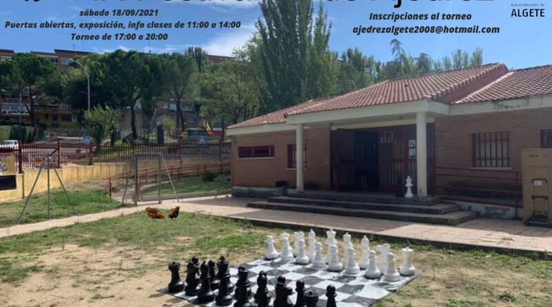 IX Festival de ajedrez en Algete